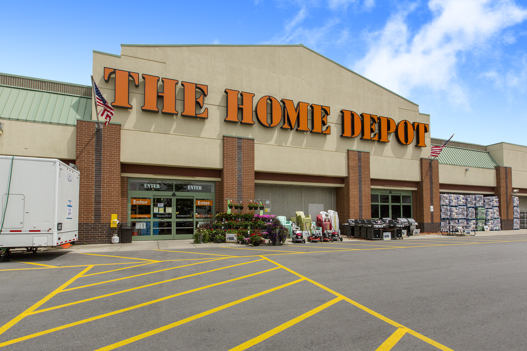 Mid america real estate arranges sale of home depot center for Depot ringcenter